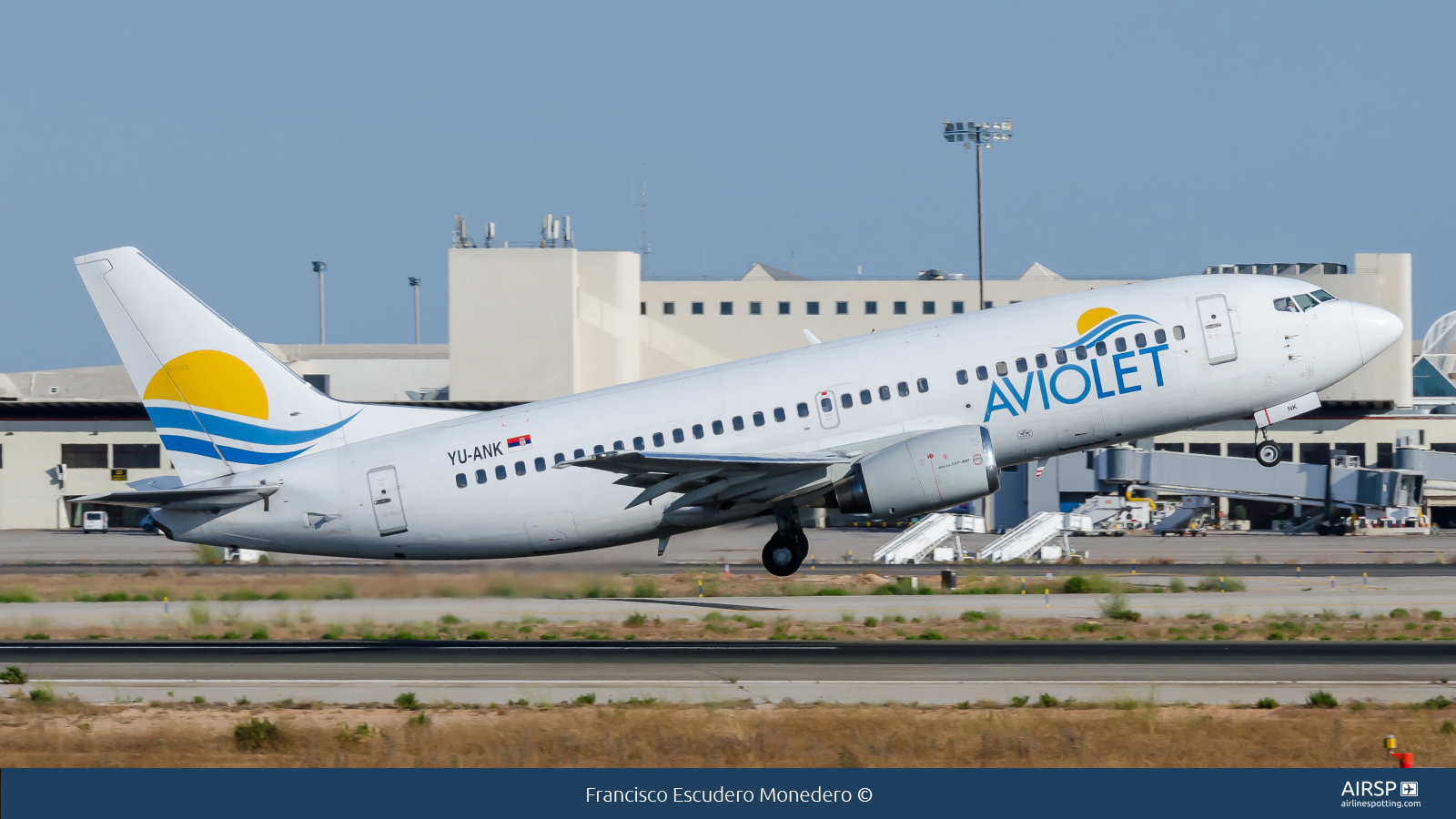 Aviolet  Boeing 737-300  YU-ANK